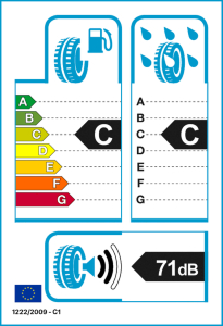 1x-TOMKET-TIRES-195-65-R15-91-H-Profil-ECO-3-Sommerreifen-Autoreifen Indexbild 2